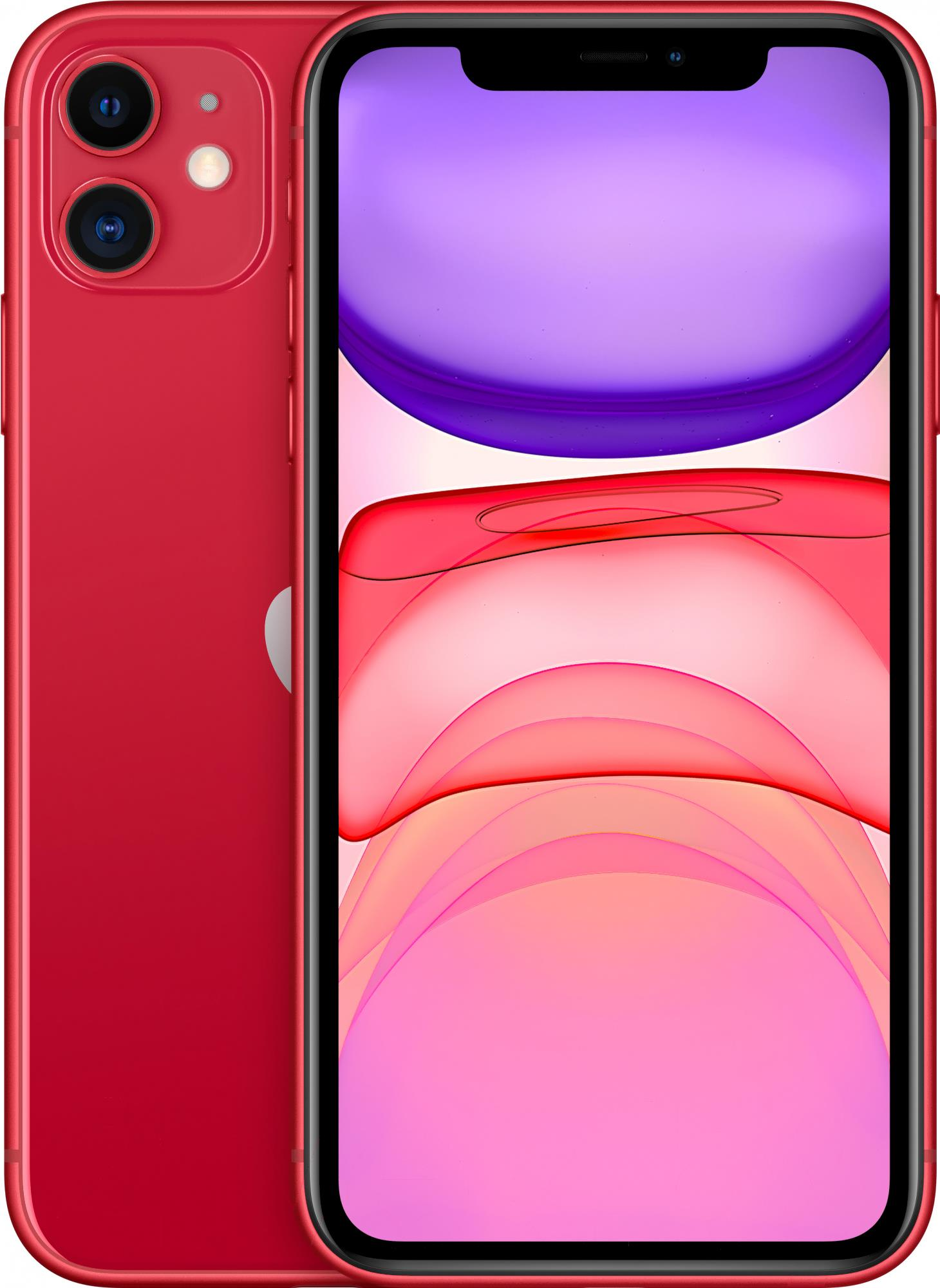 Мобильный телефон Apple iPhone 11 64GB Red [MWLV2]
