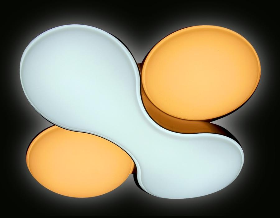 Люстра накладная Ambrella Light FG1055/1 WH 52W D360*360