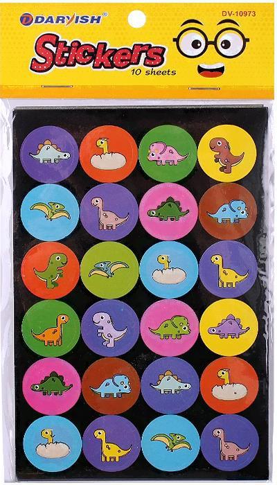 Набор декоративных наклеек Darvish Ассорти [DV-10973], наклеек Ассорти