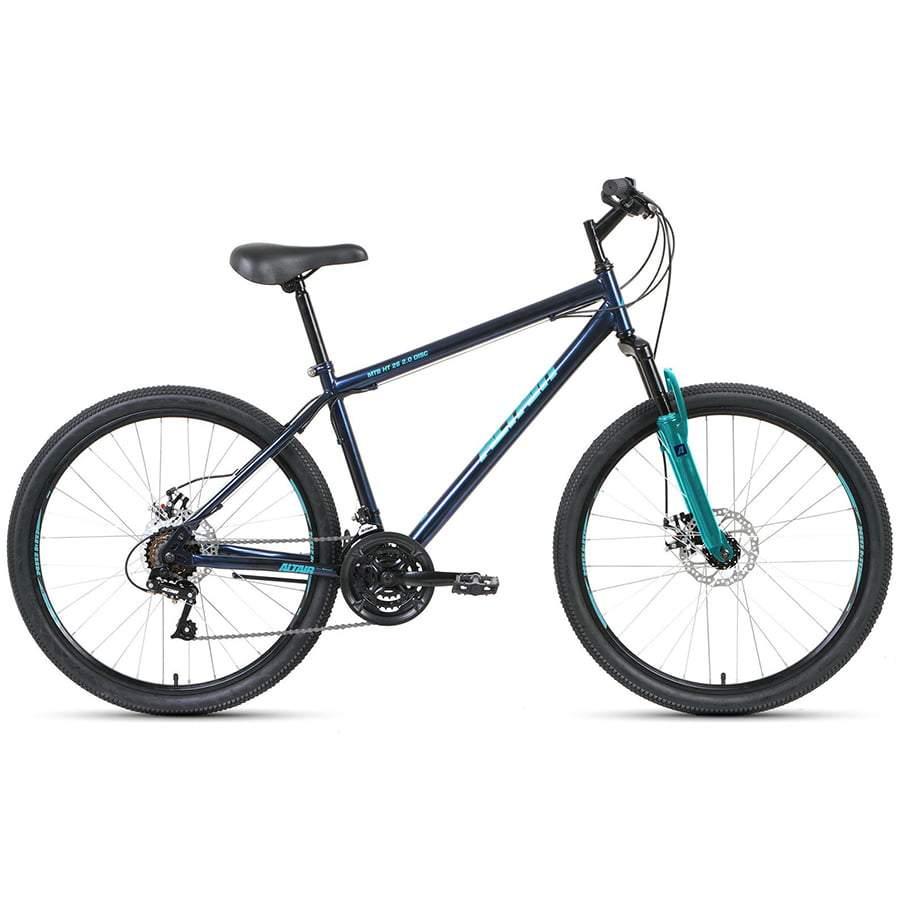 Велосипед Altair MTB HT 26 2.0 disc 17 темно-синий/бирюзовый