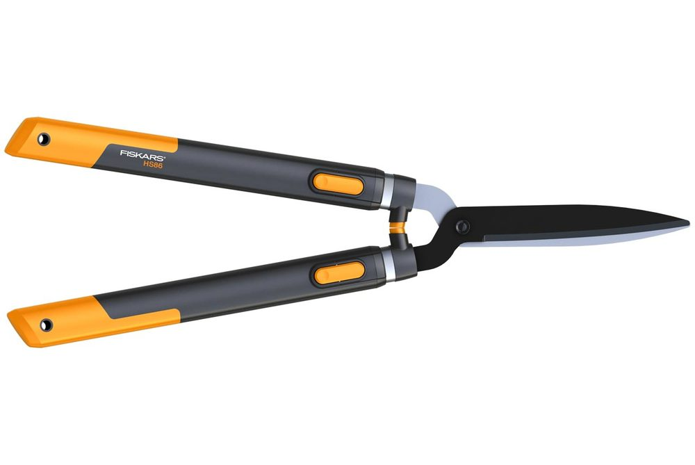 Кусторез, высоторез и садовые ножницы Fiskars Ножницы для живой изгороди телескопические SmatrFit (114800)
