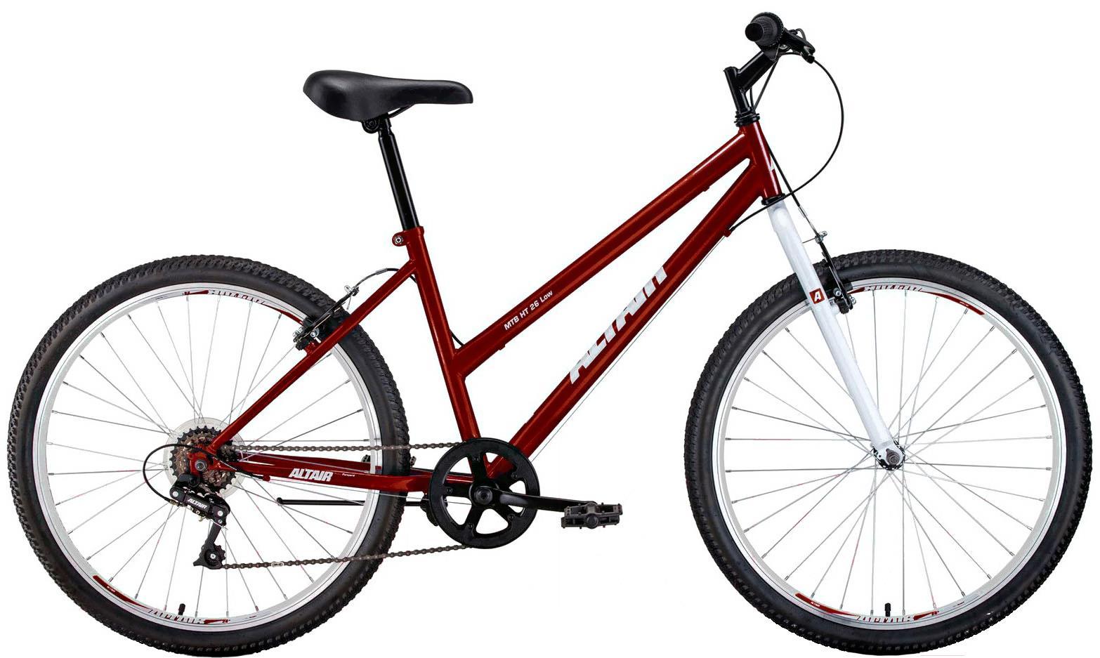 Велосипед Altair MTB HT 26 low 17 красный/белый
